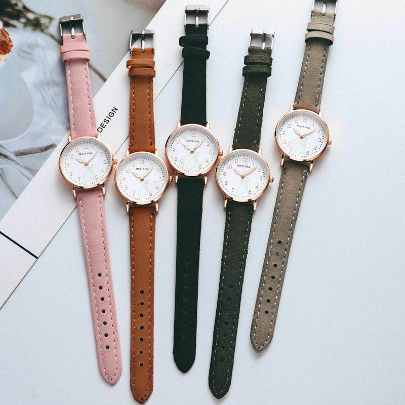Fashion Simple Ladies Wrist Watches Luminous Women Watches Casual Leather Strap Quartz Watch Clock Montre Femme luxury  gift fashion simple ladies wrist watches luminous women watches casual leather strap quartz watch clock montre femme luxury gift