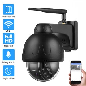 HD 5MP Auto Tracking Wireless IP Camera Network Wifi Pan tilt Spinning Built-in Microphone &Loudspeaker P2P Security CCTV Camera