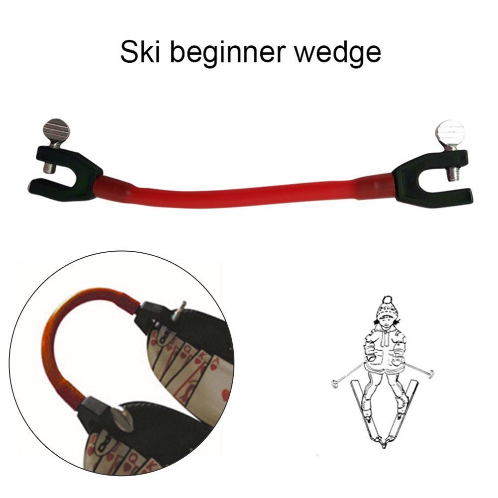Clip elástico compacto de látex para principiantes de invierno protección de velocidad conector de punta de esquí para entrenamiento al aire libre