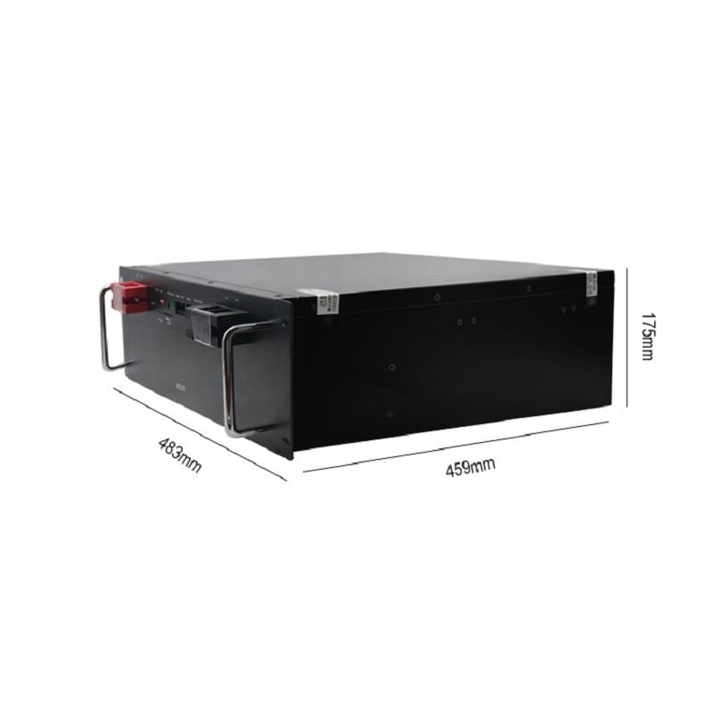 5Kwh 48 فولت 100 أمبير/ساعة Lifepo4 ليثيوم أيون بطارية ليثيوم أيون حزمة للاتصالات/UPS/تخزين الطاقة الشمسية