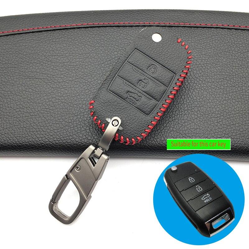 3 кнопки горячая Распродажа кожаный откидной ключ чехол для Kia Rio Cerato Soul Sportage Ceed Sorento K2 K3 K4 K5 гаечный ключ
