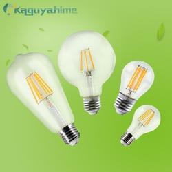 =(K)= edison e27 lâmpada retro led filamento luz e14 220v lâmpada do vintage vela lâmpada edison led c35/g45/a60/st64/g95 lampada