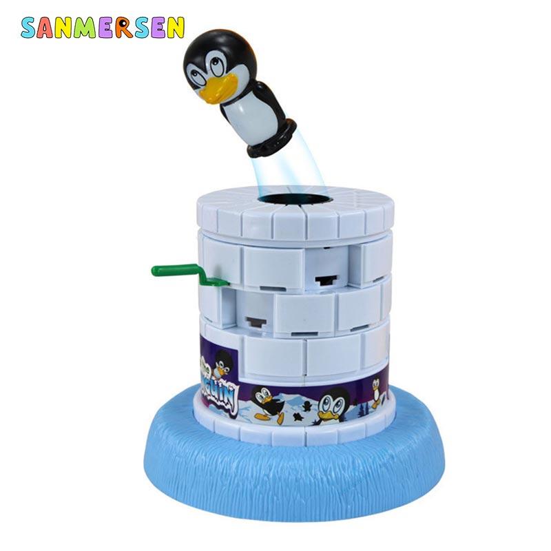 Save the pingüino de pared-breaking Game Juguetes Educativos pingüino catapulta padres-niño interactivo juego de mesa juguetes para niños