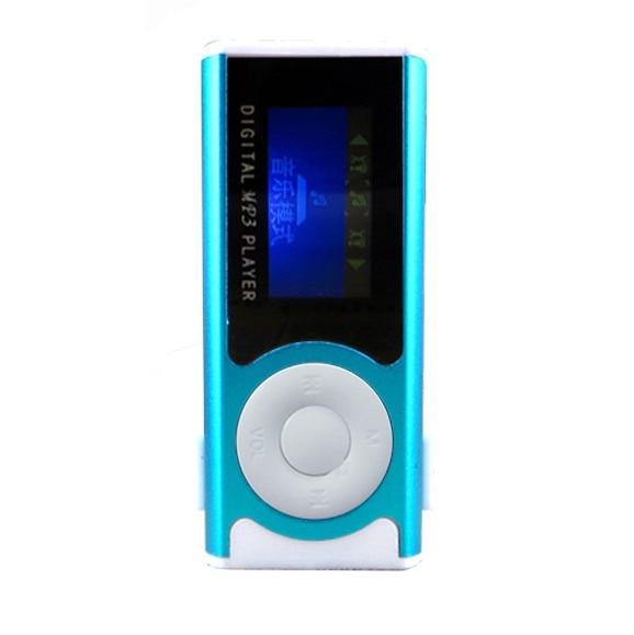 HOT 5 colors Shiny Mini USB Clip LCD Screen MP3 Media Player Support 16GB Micro SD