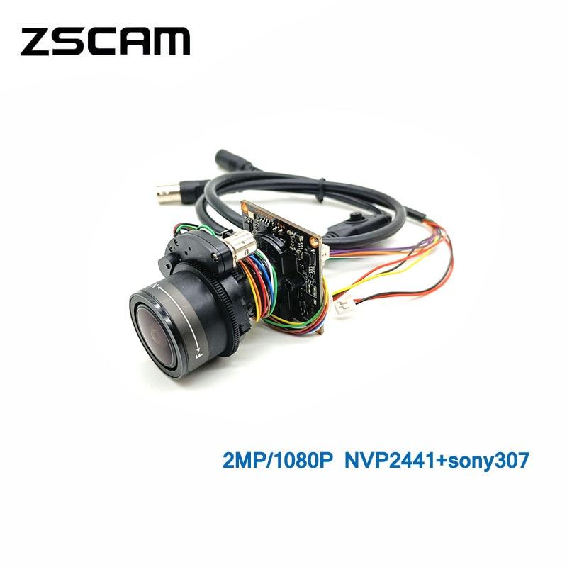 1080P العهد/السيدا/TVI/CVBS 4 في 1 كاميرا مراقبة وحدة دليل التركيز ضبط تلقائي للصورة عدسة 2MP النجوم سوني 307 رقاقة وحدة مع OSD