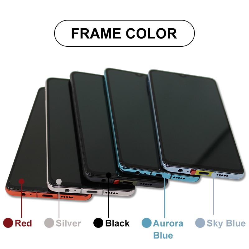 SUPER AMOLED For HUAWEI P30 LCD ELE-L29 ELE-L09 ELE-AL00 Display Touch Screen Digitizer Replacement Parts For Huawei P30 Screen enlarge