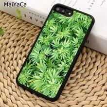 MaiYaCa الاعشاب النباتات قضية الهاتف آيفون X XR XS 11 برو ماكس 5 6 6 S 7 8 Plus سامسونج غالاكسي S5 S6 S7edge S8 S9 S10