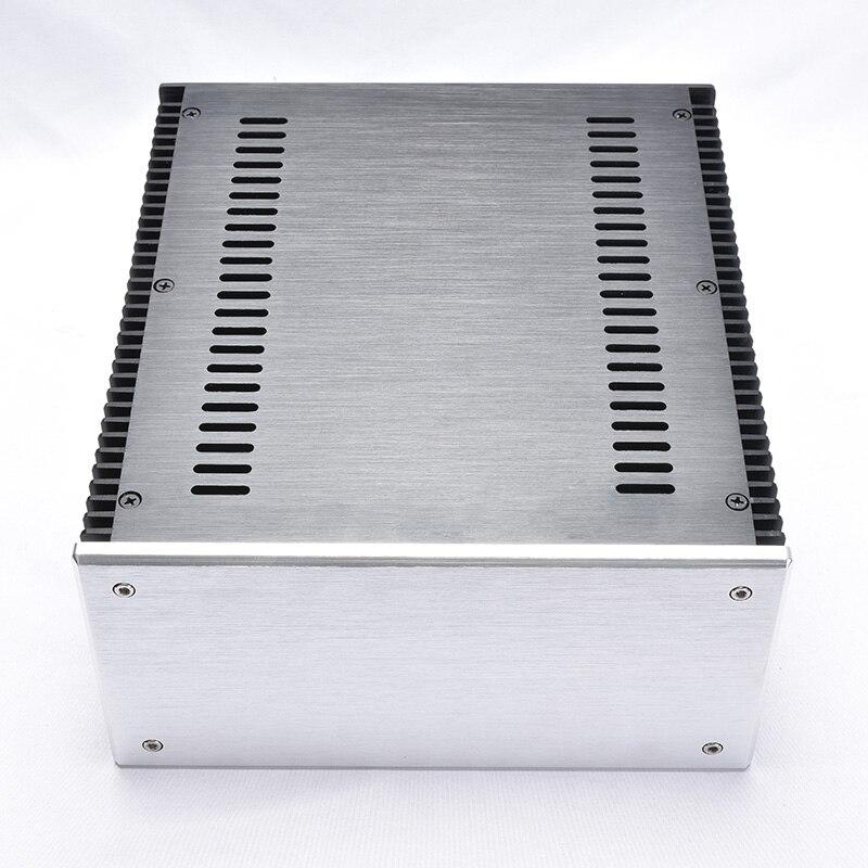 Carcasa para amplificador de aluminio 240*120*271MM2412 versión A y B carcasa para amplificador Amp carcasa caja DIY