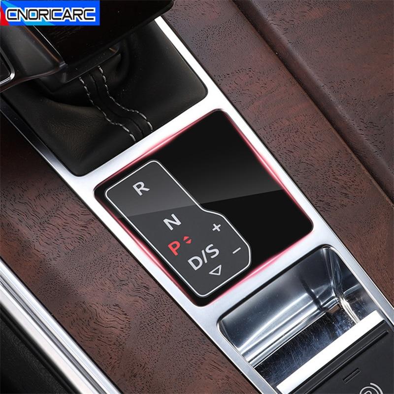Auto Center Konsole Schalthebel Display Bildschirm Film Dekoration Decals Für Audi A6 C8 2019 2020 LHD Anti-Scratch-Schutz aufkleber