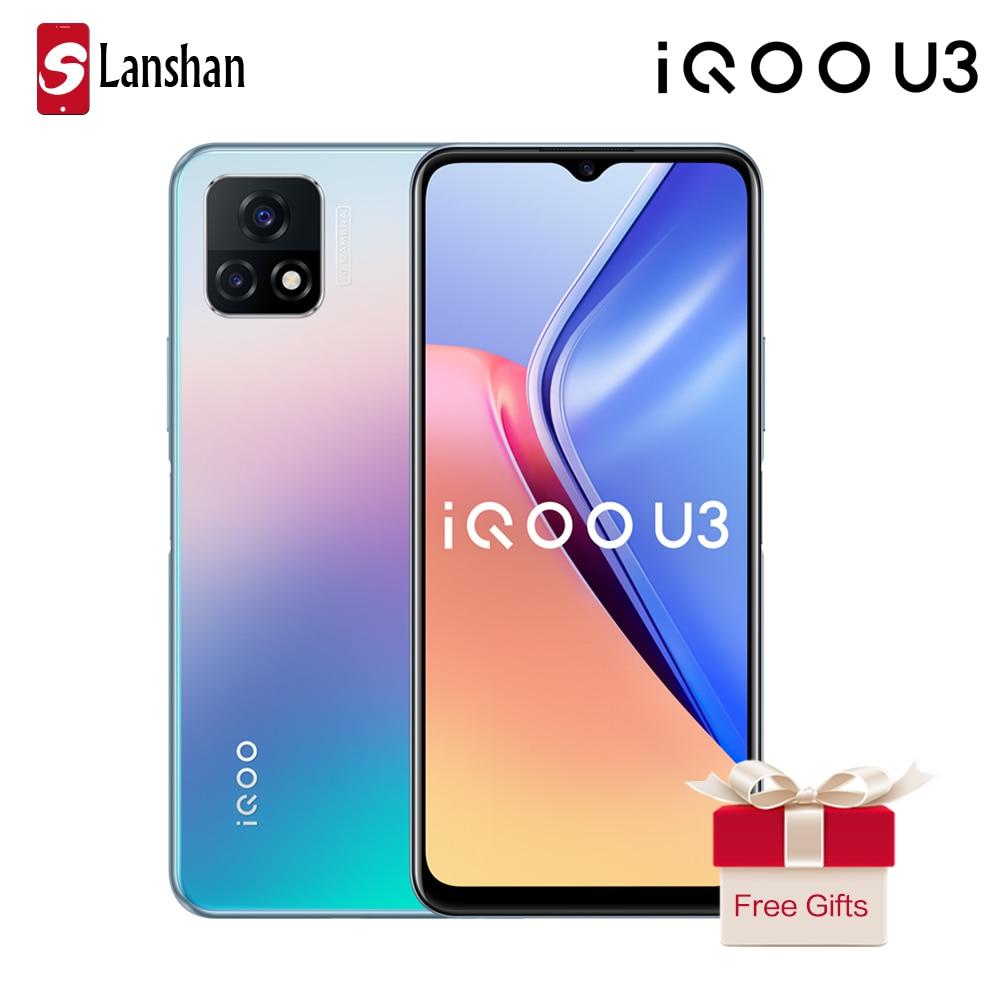 Newest iQOO U3 5G Mobilephone MTK Dimensity 800U 90Hz High Refresh Rate Five-layer Liquid Cooling System 5000mAh Cellphone
