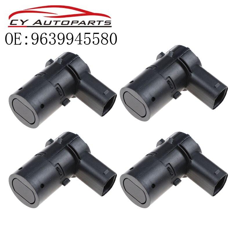 YAOPEI 4 Uds 9639945580 aparcamiento PDC Sensor para Renault Laguna Peugeot 607 Peugeot 806 2.9L Citroen C5 8200049263