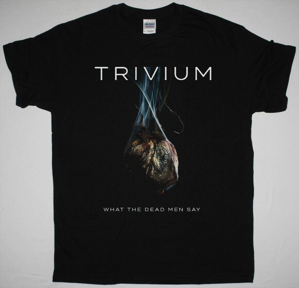 Trivium ¿Qué muerto dicen los hombres negro T camisa como morir compromiso Killswitch