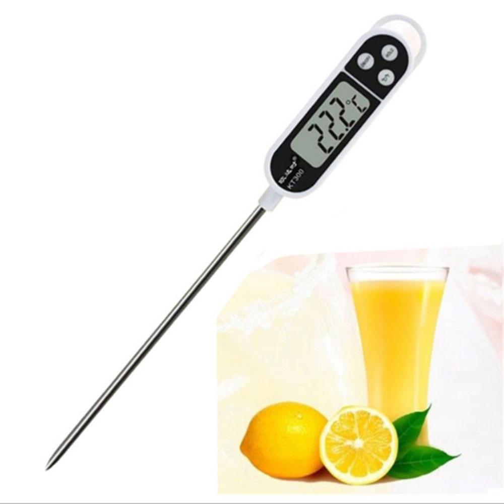 Фото - Цифровой Кухонный Термометр, электронный измеритель температуры для мяса, молока, масла, глубокой жарки, барбекю, от-50 °C до 300 °C термометр для жарки электронный темпере gefu 21840