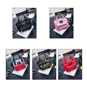 Hot Sale Oxford Satchels Handbag Ladies Messenger Crossbody Shoulder Bags Solid Tote Multifunction Girls Women Bucket Purse