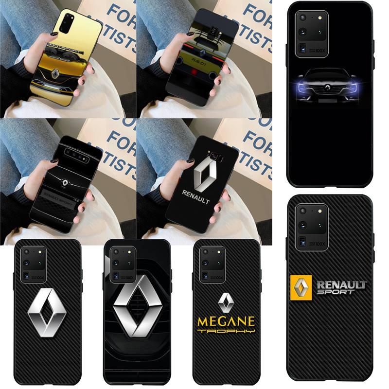 CUTEWANAN Renault Concept voiture bricolage impression coque de téléphone pour Samsung S20 plus Ultra S6 S7 bord S8 S9 plus S10 5G