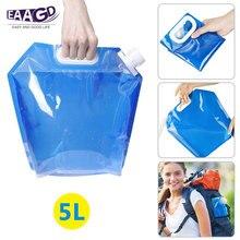 1 pièces 5L pliable en plastique bouilloire porte-eau, pliable conteneur deau Portable stockage de leau porte-citernes pour le Camping