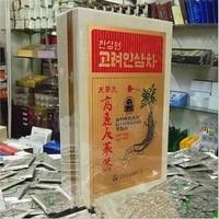 100 original korean ginseng root tea panax ginseng enhance resistance anti aging improve immunity wooden box quality goods