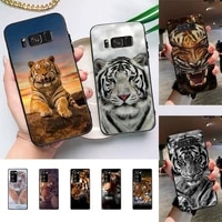 animal tiger phone case for samsung galaxy note10pro note20ultra cover for note20 note10lite m30s back coque