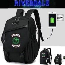 IMIDO Riverdale sac à dos étudiants de lécole sac de grande capacité Port de charge USB sacs à dos décontracté plusieurs Styles sac à bandoulière
