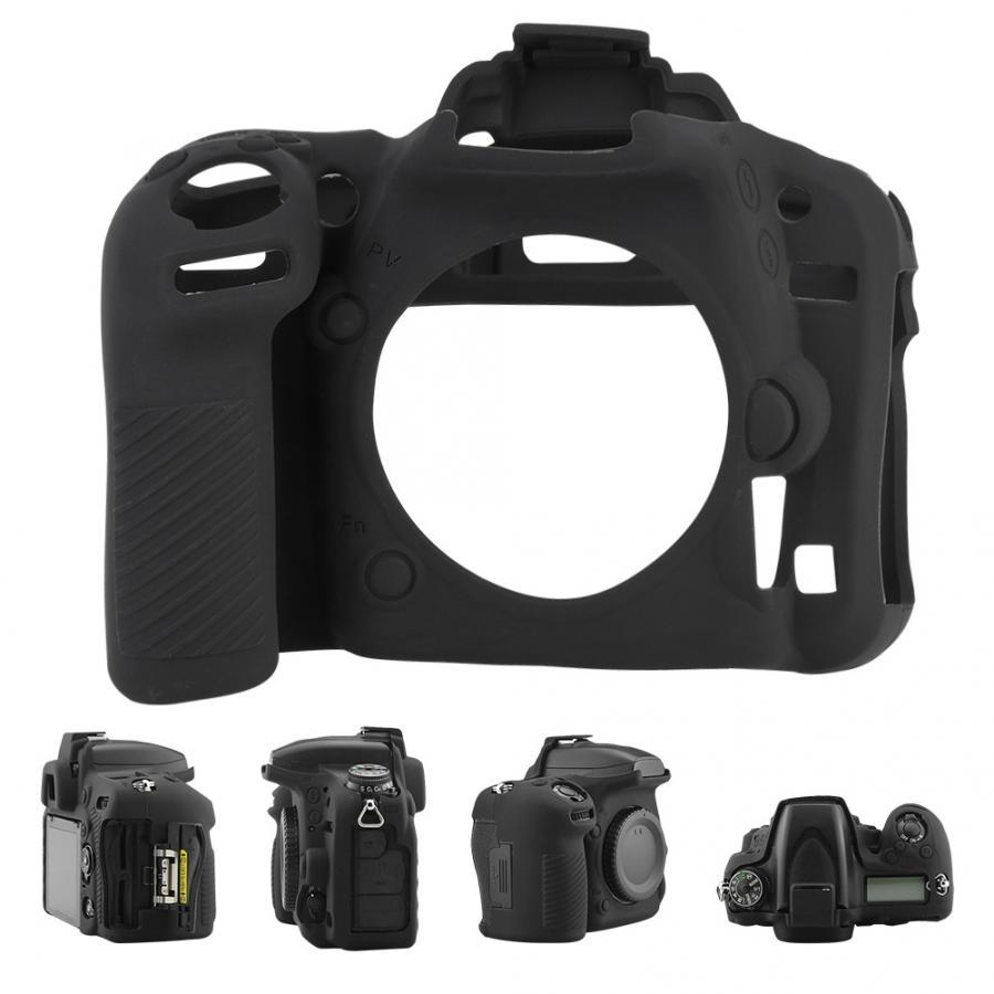 Zaino fotografico durável para nikon d750 caso da câmera capa protetora de silicone macio preto sac photographe