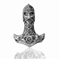 basic retro celtic viking warrior necklace for men fashion sliding metal pendant chain on the neck accessories male jewelry