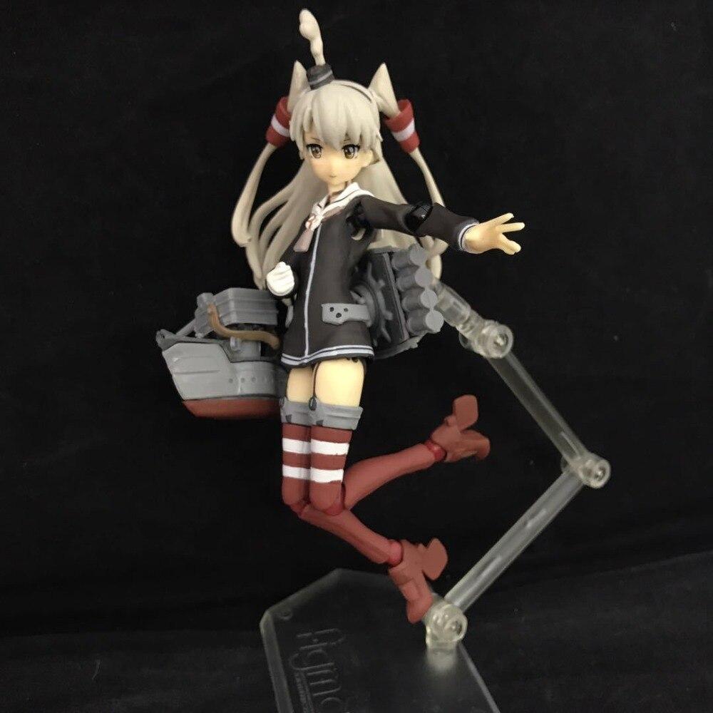 Figura de Anime Kantai colección KanColle Shimakaze Amatsukaze Figma 240 PVC figura de acción coleccionable modelo niños juguetes muñeca