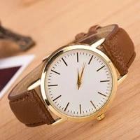 montre luxury brand leather quartz watch women fashion rose gold dial wristwatches girls female dress watches relogio feminino