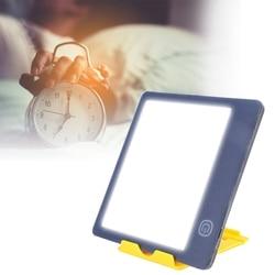 Led terapia lâmpada sazonal afetiva desordem fototerapia luz com suporte máquina de ajuda ao sono escurecimento anti-fadiga terapia triste
