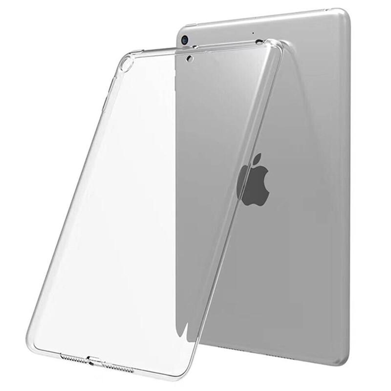 Funda trasera transparente de TPU a prueba de golpes, para iPad 10,2 MiNi 2 3 4 5 2019 Pro 2017 Air 1 2