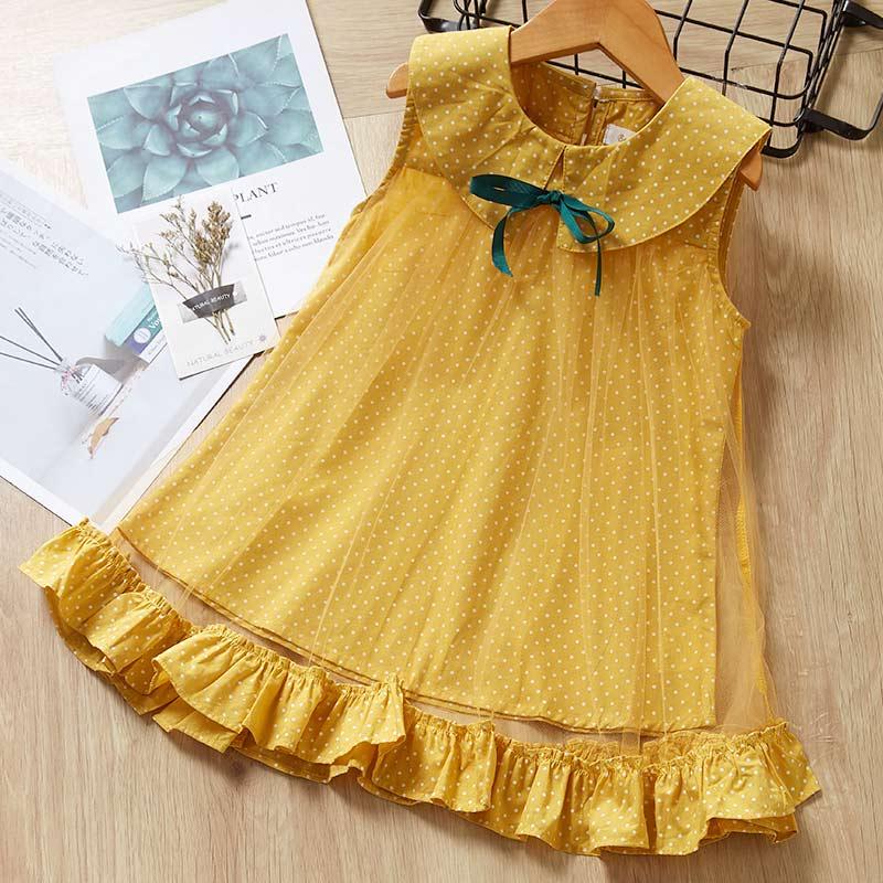 Vestidos para niñas, nuevo vestido de princesa dulce con lazo, ropa para bebés y niñas, vestidos de fiesta de boda, vestidos para niñas