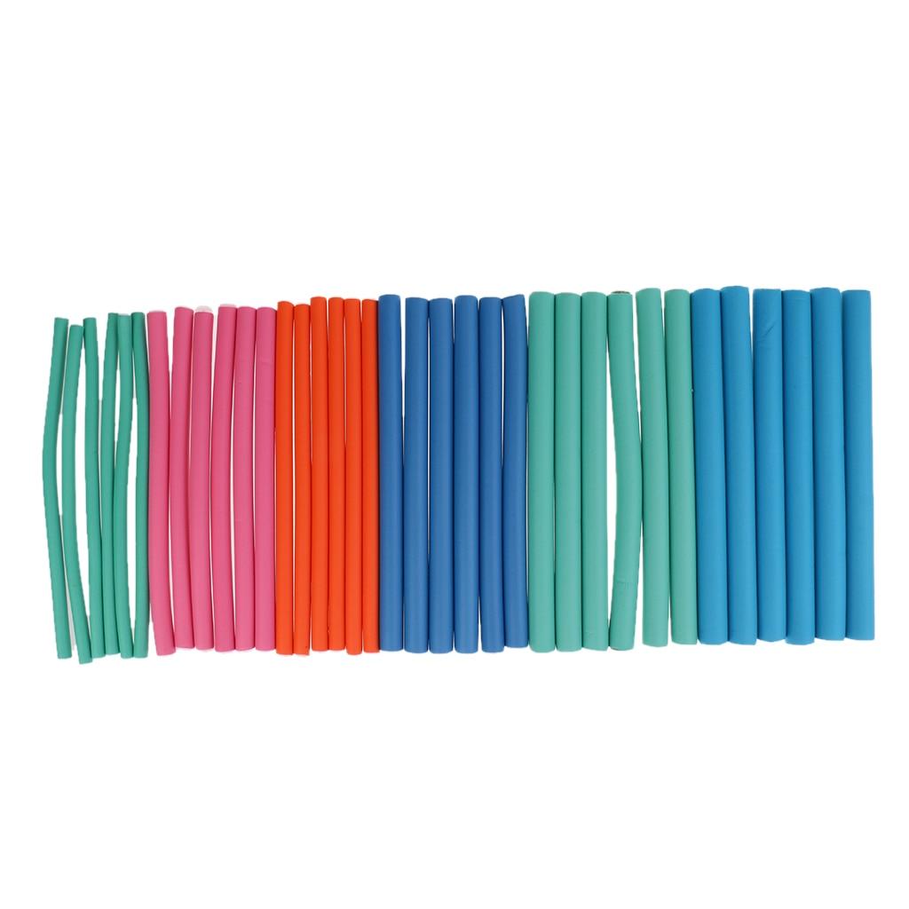 36 uds, rizadores mágicos de espuma flexible para el cabello, juego de Rizadores para el cabello, rizador de estilo, Color mixto