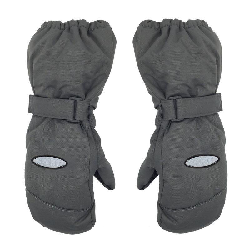 Invierno al aire libre niños guantes de esquí grueso cálido a prueba de viento impermeable niños mitones P31B