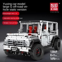 technology series sports car big g off road vehicle boy puzzle assembling building blocks toy model car compatible with lego