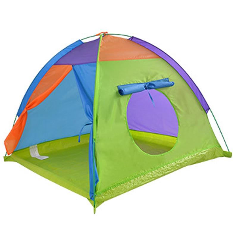 Große kinder Zelt Kinder Outdoor Camping Zelt Tipi Tragbare Kind Tipi Spielen Haus Baby Ball Pool Laufstall Wenig Wigwam spielzeug
