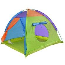 Grande tente de Camping en plein air pour enfants, Tipi, maison de jeu Portable, jeu, piscine à balles, jouets pour petits Wigwam