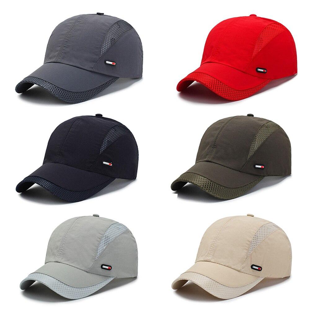 Hommes femmes casquette de Baseball été crème solaire chapeau réglable respirant militaire armée camouflage Airsoft chasse Camping randonnée pêche casquettes
