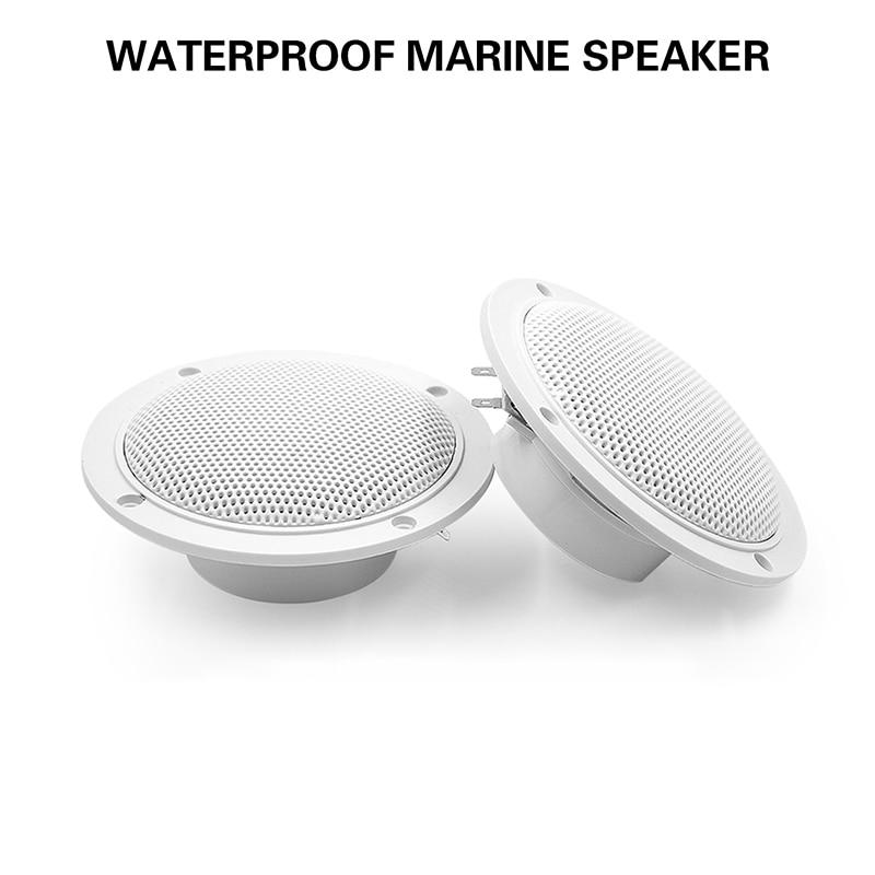 4 inch 120Watts Marine Waterproof Speaker For ATV UTV SPA Golf Marine Boat Speaker SPA Motorcycle UV-Proof Outdoor Music Speaker