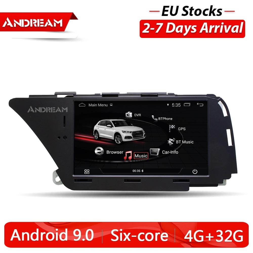 "7 ""Android 9,0 coche Multimedia para AUDI A4 S4 A5 Q5 (2008, 2009, 2010, 2011, 2012, 2013, 2014, 2015, 2016 B8) Unidad de navegación gps"