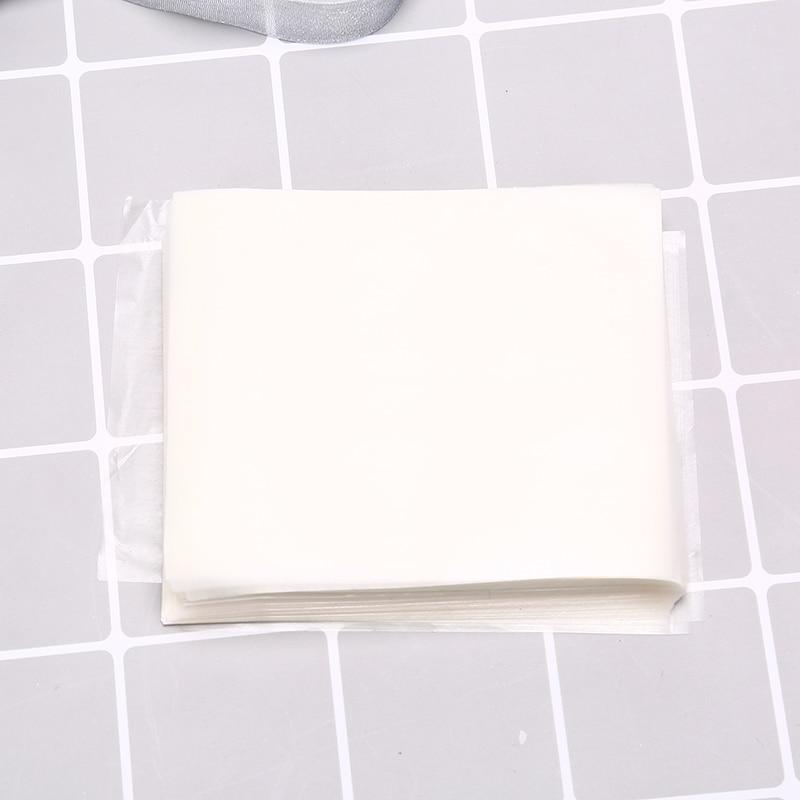 500 unids/bolsa 8cm * 6,5 cm suministros festivos papel de arroz glutinoso caramelos turrón comestible esencial para hornear regalos de papel
