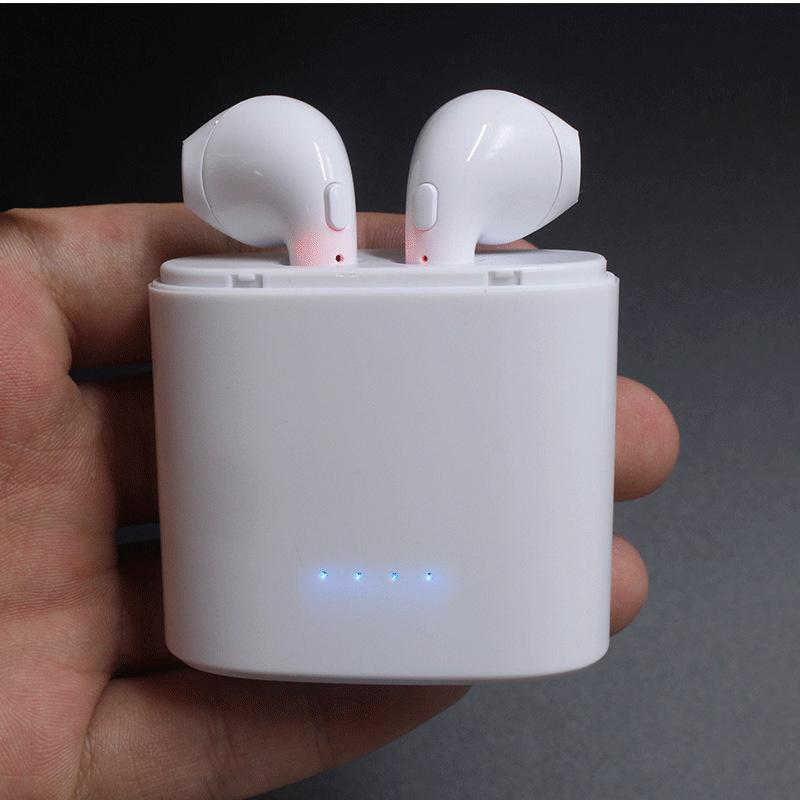 Mini auriculares Bluetooth i7s tws con caja de carga y micrófono para iphone V8 M6T M8C para Huawei P30