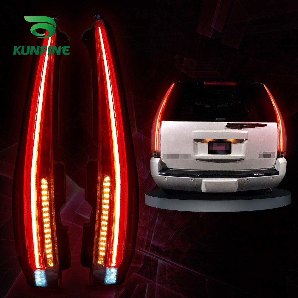 Montaje de luz trasera de coche para GMC Yukon Led 2007-2014 luz de freno con luz de señal de giro luz Led trasera de coche piezas de sintonización