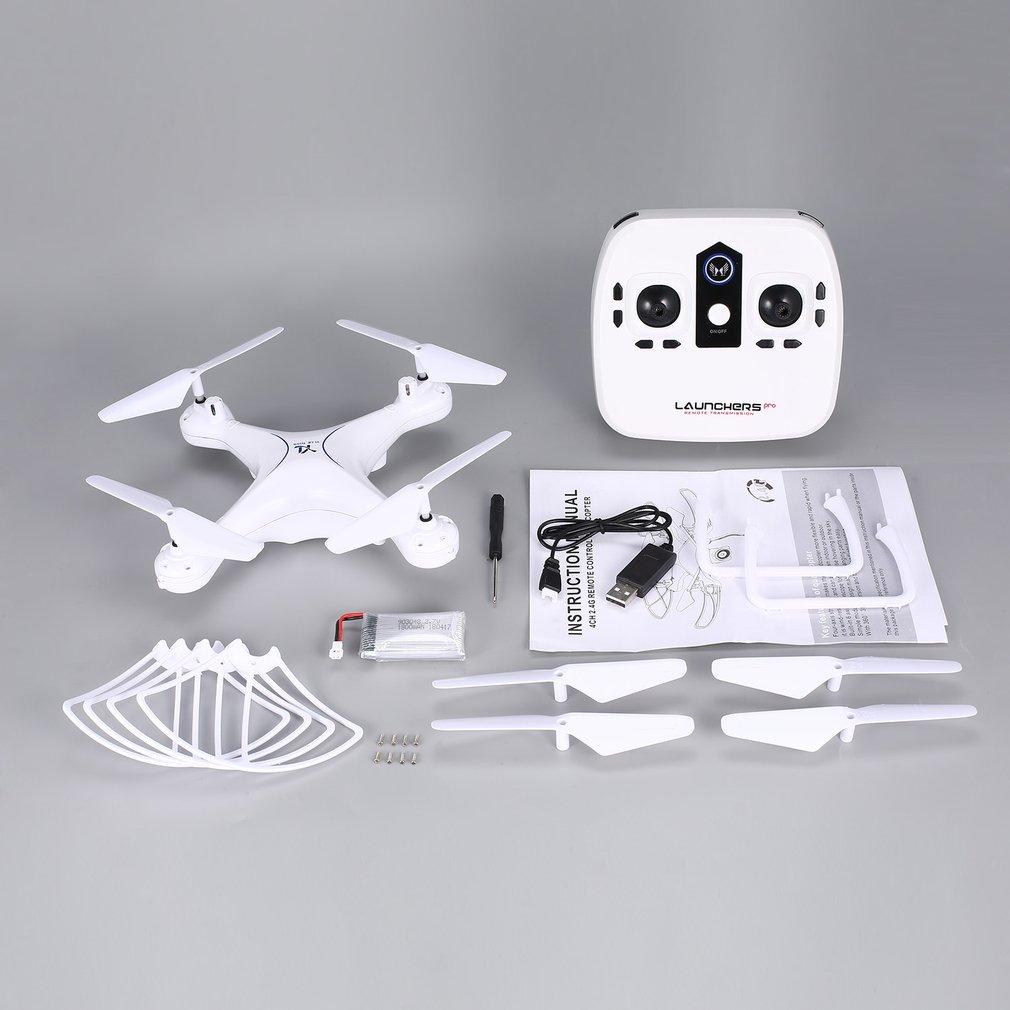 Caliente S28 RC Drone 2,4G Quadcopter avión con retención de altitud Auto Retorno sin cabeza 3D Flips 18min Long Flight RC Drone modelo Juguetes