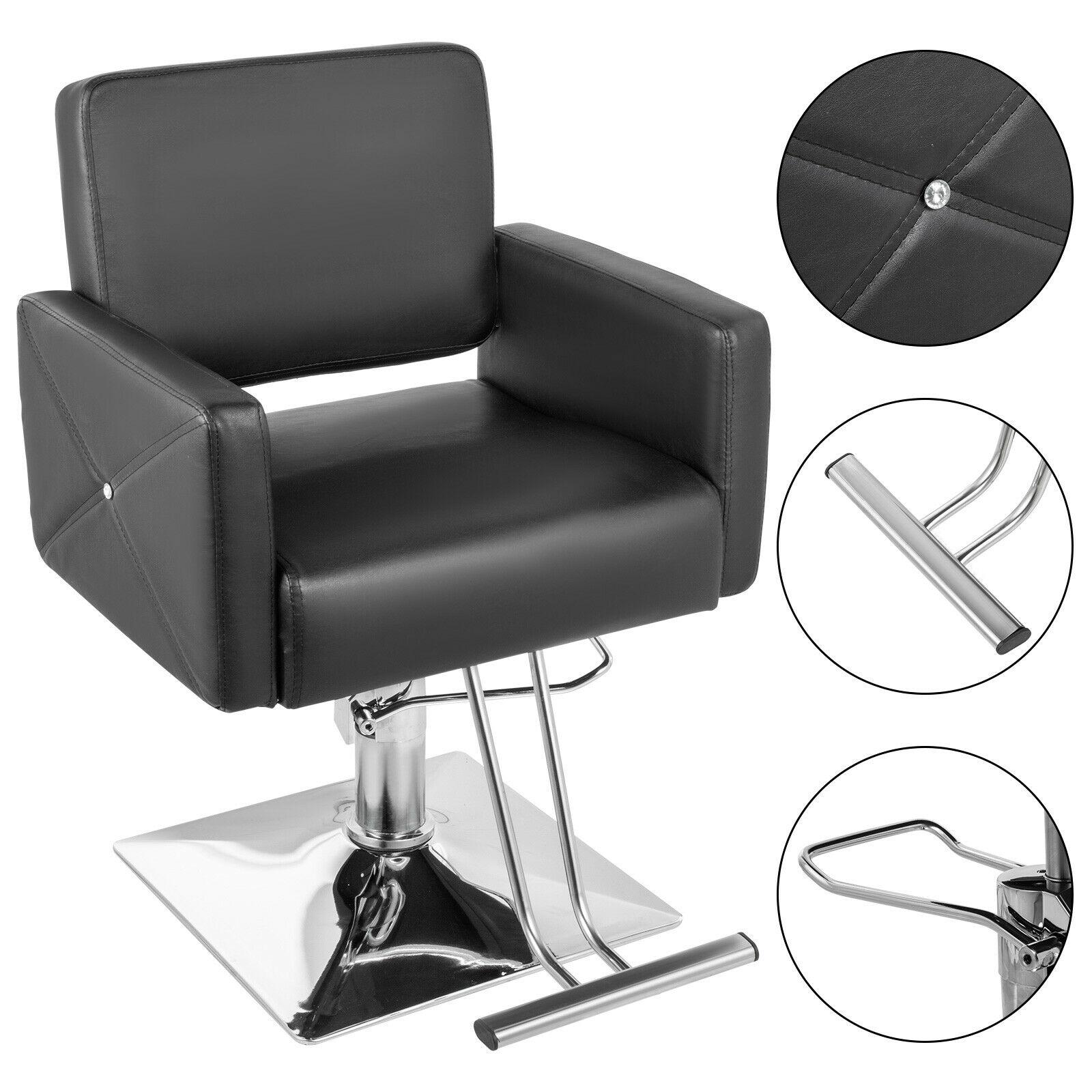 Hydraulic Barber Chair Salon Hair Styling Beauty Spa Shampoo Equipment Classic Adjustable
