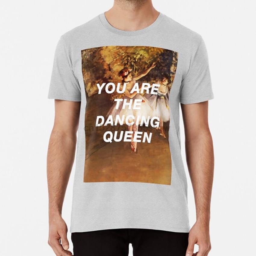 Degas taniec królowa T shirt edgar Degas historia sztuki taniec królowa pop muzyka teksty 1970s disco balet