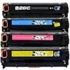 1เซ็ตตลับหมึกสีสำหรับHP LaserJet Pro M252 M277n M277dw CF400A CF401A CF402A CF403A HP201A