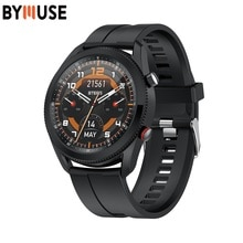 BYMUSE L61 Smart Watch BT call Man Dial Rotated To Switch Function 1.28 Inch Smartwatch IP67 Waterpr