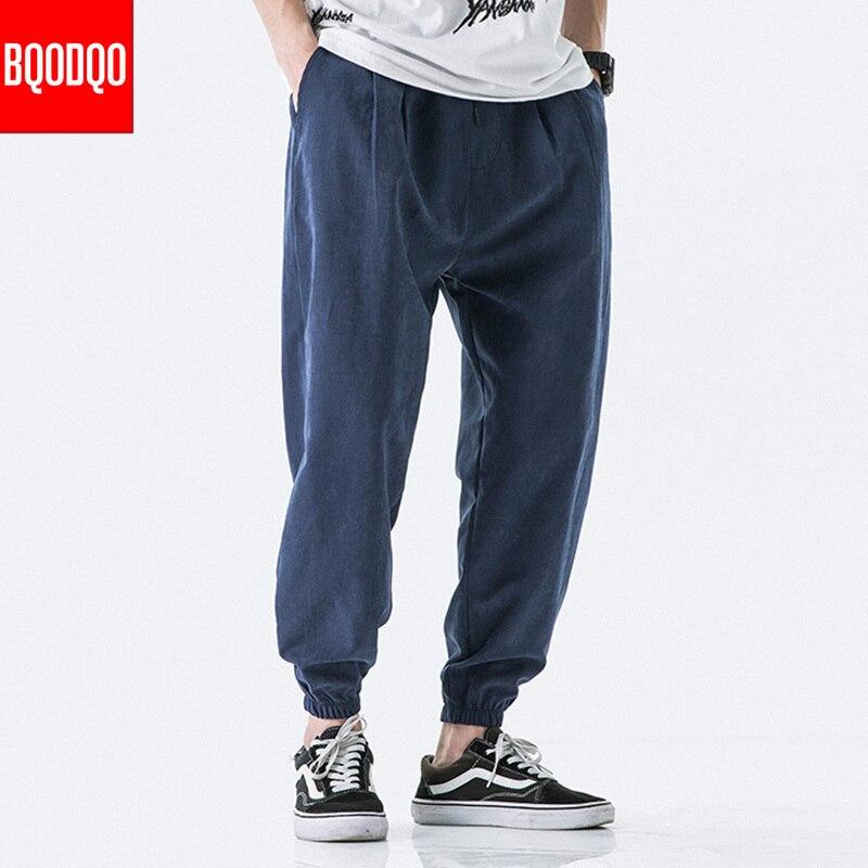 Хаки осенние Брендовые повседневные шаровары мужские хип-хоп хлопковые армейские мешковатые джоггеры брюки Японская уличная одежда Harajuk трикотажные спортивные штаны