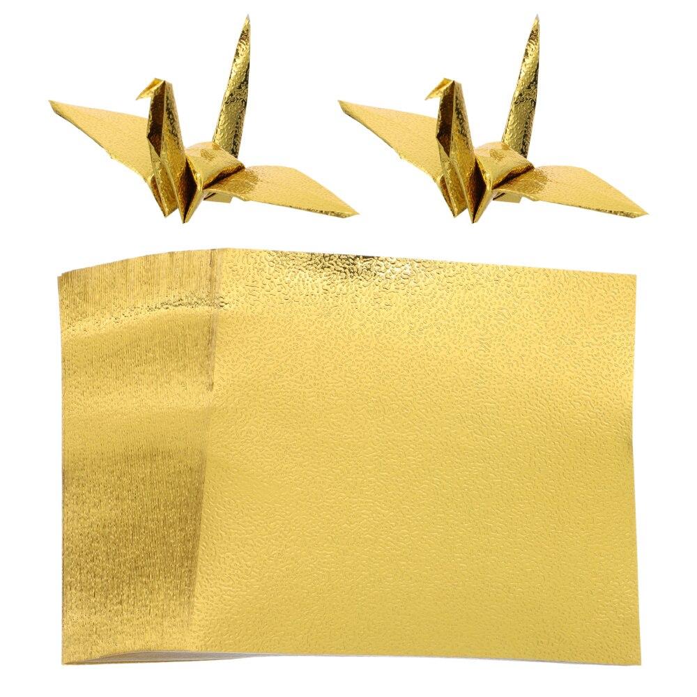 100 шт., складная бумага, квадратная бумага, красивая бумага для оригами, бумага для рукоделия