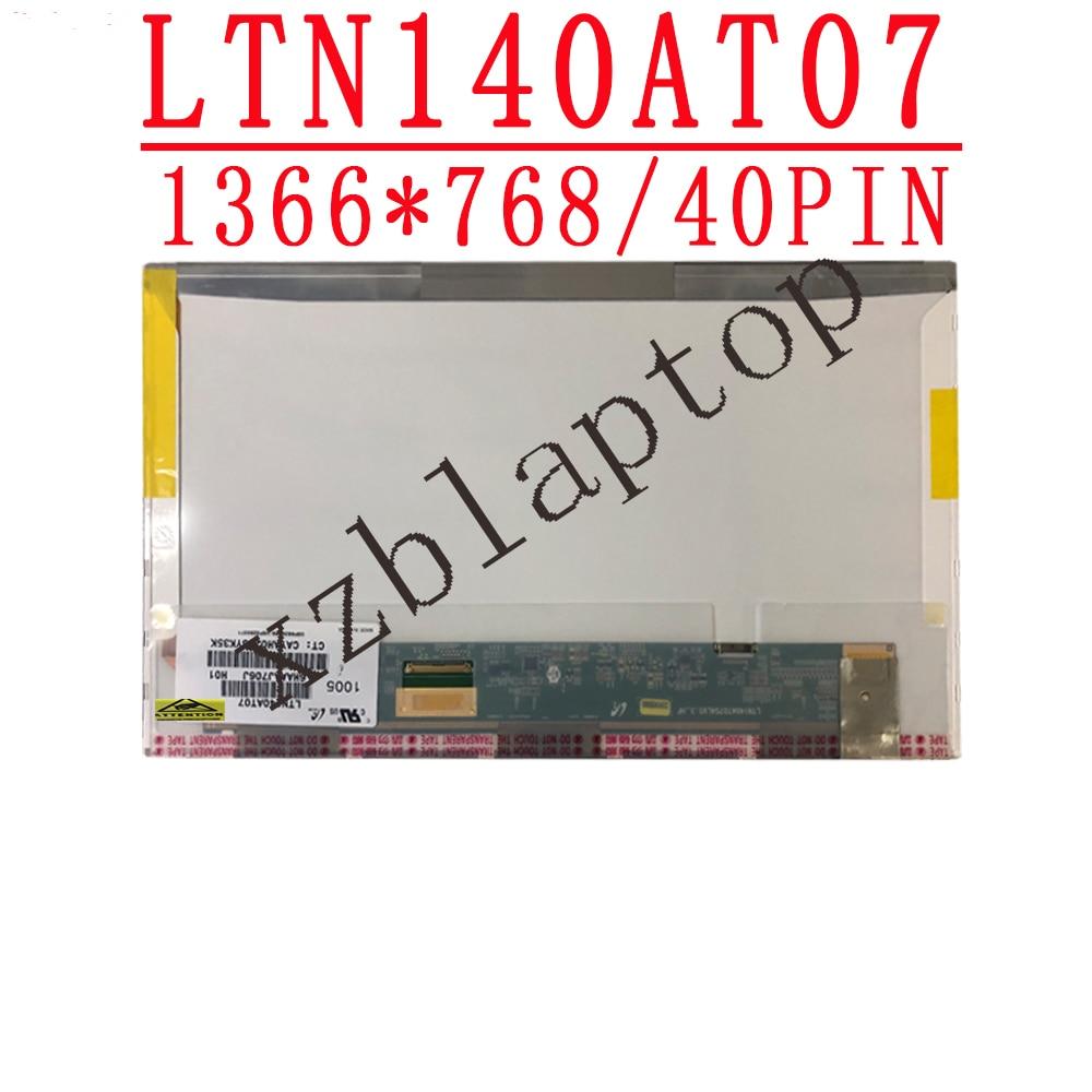 14.0 بوصة lcd مصفوفة LTN140AT07 صالح LTN140AT02 LTN140AT16 LTN140AT01 LTN140AT04 LTN140AT22 LP140WH4 HT140WXB محمول شاشة led