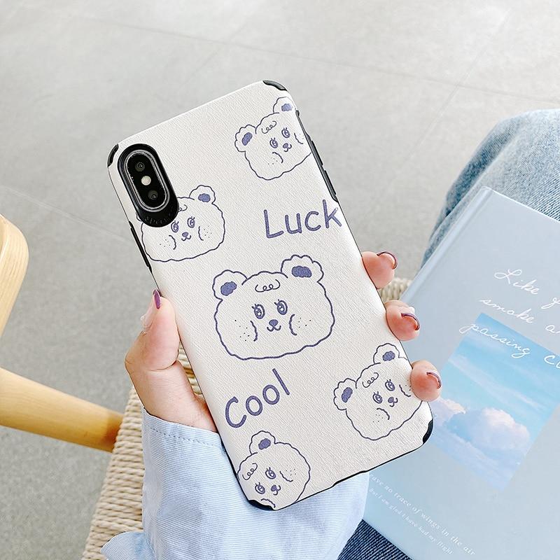 Милые рельефные чехлы с медвежонком для Xiaomi 8, 8Lite, 9, 10, A3, A3Lite, для Redmi K20, K30 Pro, Note7, Note8Pro, Note6Pro